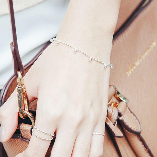 |純銀|小圓珠.手鍊