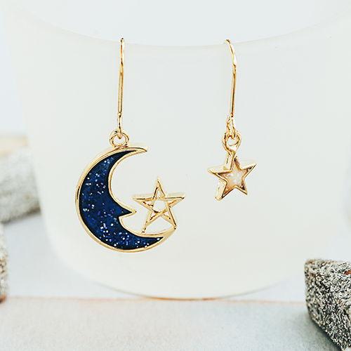 落入凡間的星月精靈,星球,行星,太空,宇宙,星星