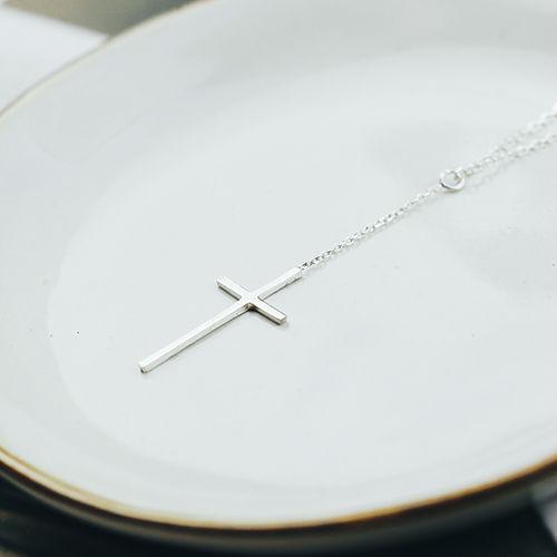 |純銀|信仰的延伸.鎖骨鍊