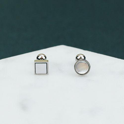 貝光幾何 單支.耳環
