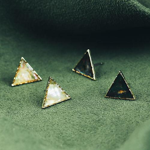迷幻夢境,三角,幾何,亮面,黑色,白色