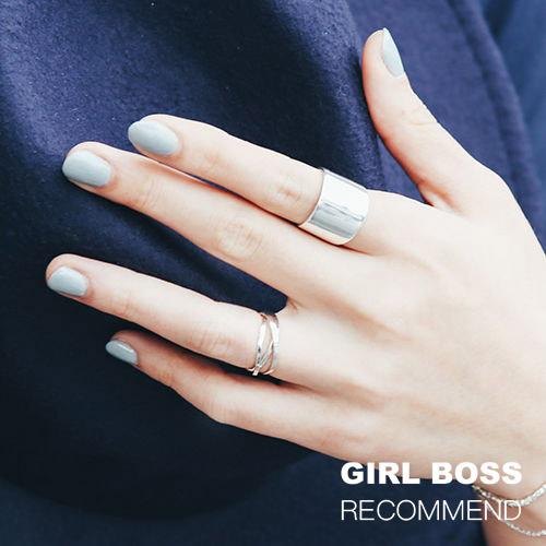 |純銀|極簡寬戒.戒指