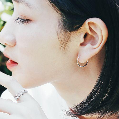 |純銀|Circle 1.5.耳環