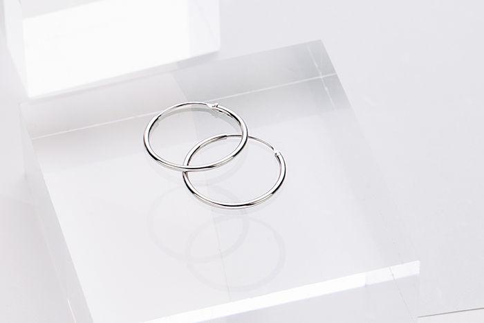 |純銀|Circle 1.9.耳環