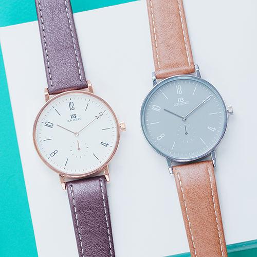 簡約生活大圓錶.手錶