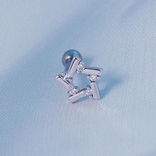 星的迴旋 單支耳環