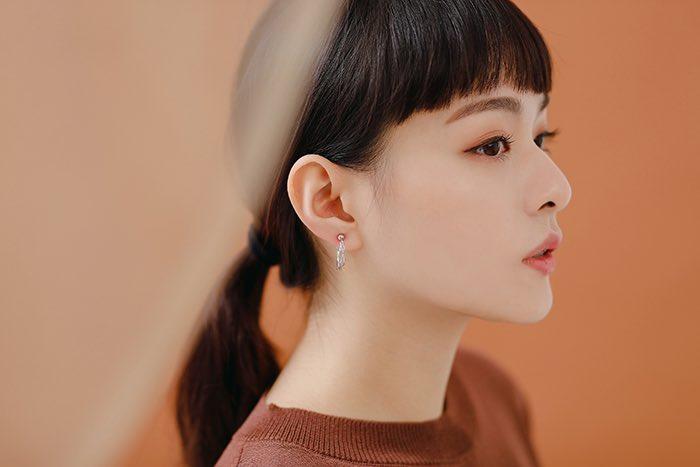 交織的無限.耳環/耳夾