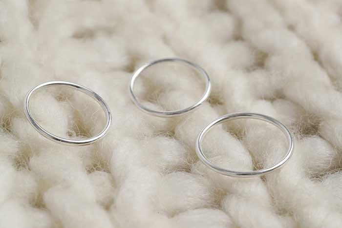 |純銀|極簡偏執狂.戒指
