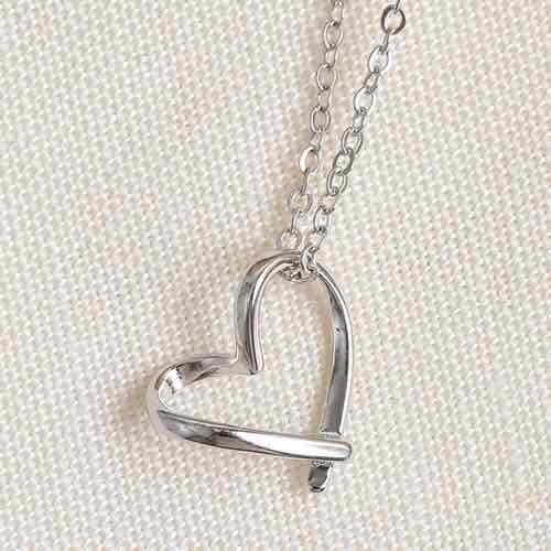 |純銀|簡單愛.鎖骨鍊,全純銀,925,純銀,愛心,姐妹項鍊