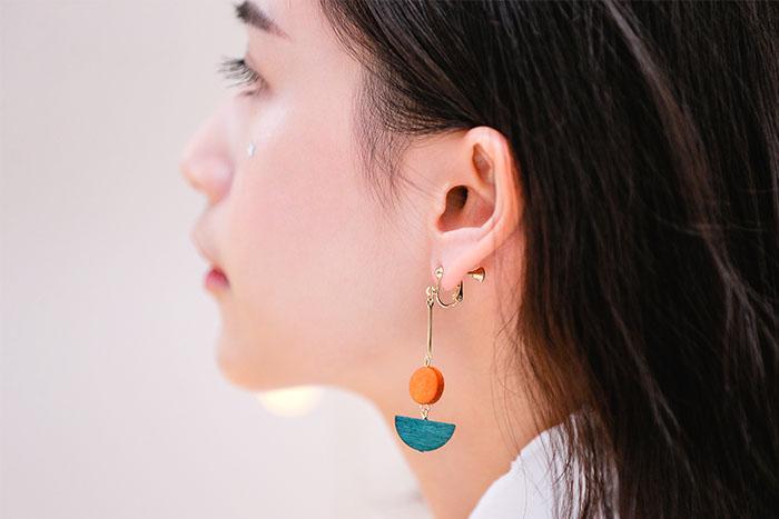 林間漫遊者.耳環/耳夾