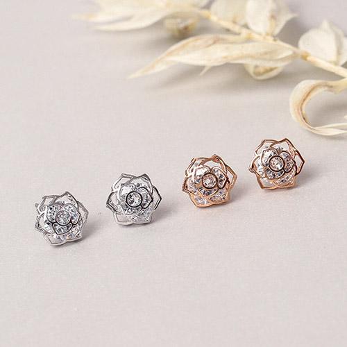野玫瑰.耳環