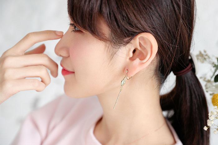 菱鏡魔法棒.耳環/耳夾