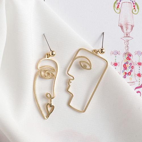 畢卡索之吻.耳環