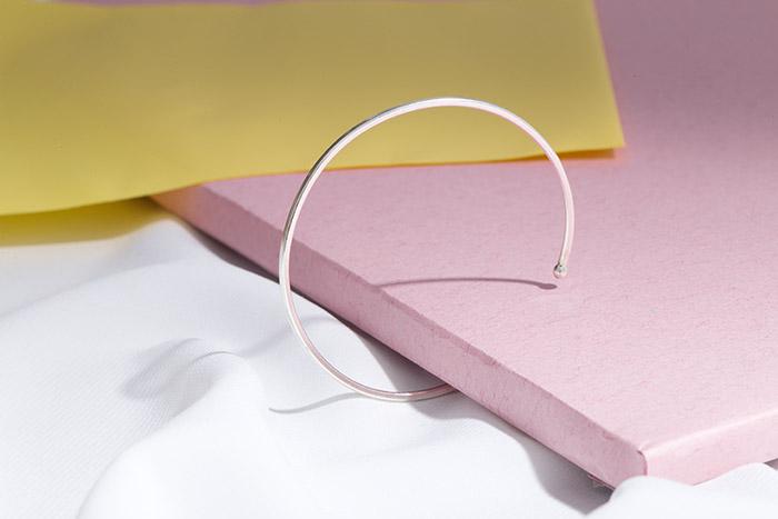  純銀 To Simple.C型環