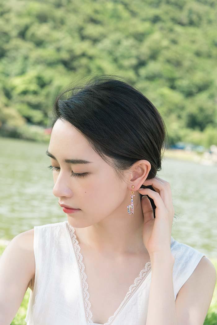 長頸鹿公園.耳環/耳夾
