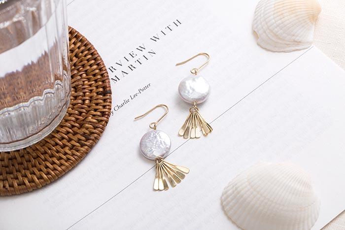 貝殼寶藏.耳環/耳夾
