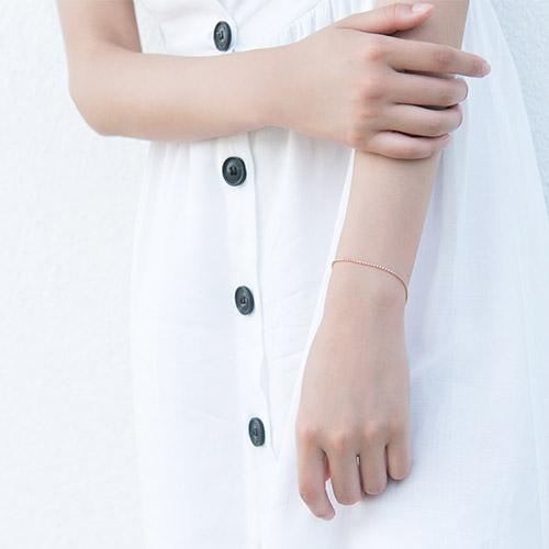 |純銀|月光小徑.手鍊