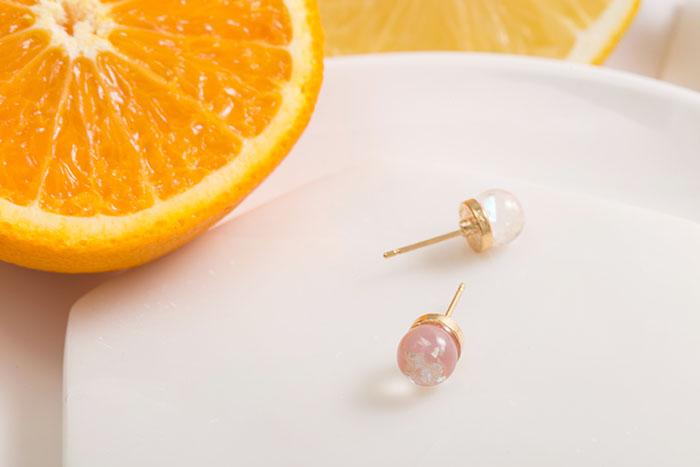 果凍球.耳環/耳夾