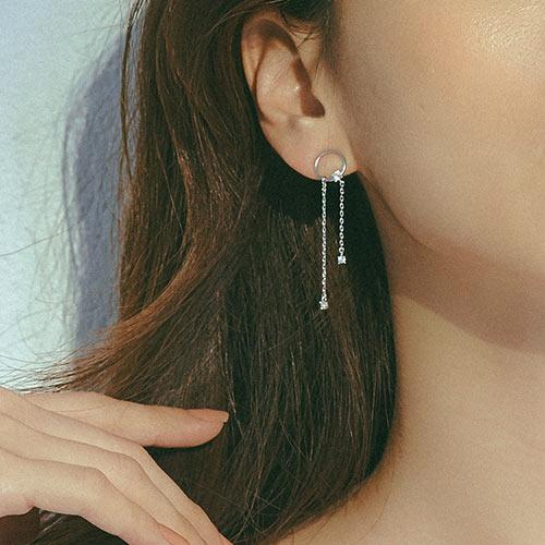 流星雨.耳環