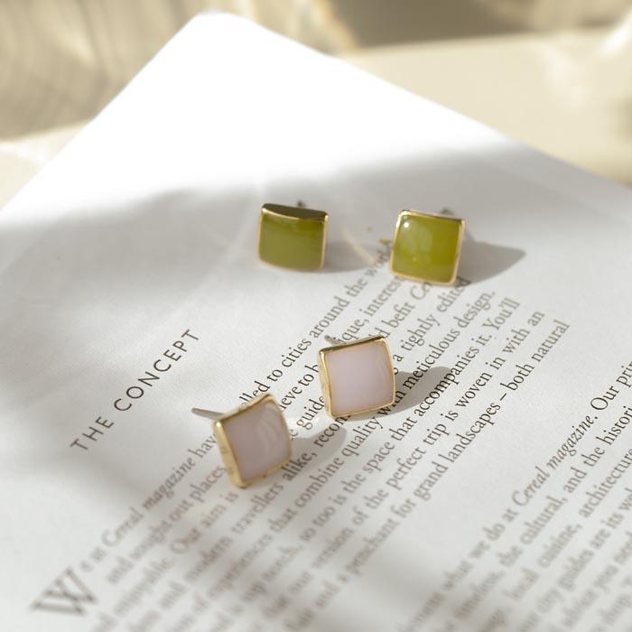 復古方塊.耳環/耳夾,,,80901047,復古方塊.耳環/耳夾,