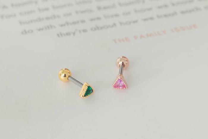 寶石.單支耳環
