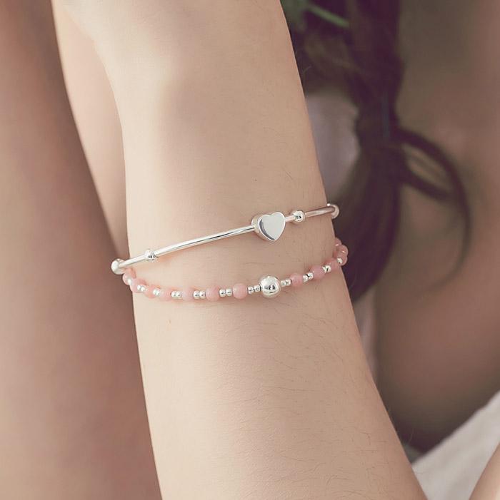 |純銀|Sakura.彈性手環