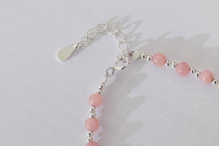  純銀 Sakura.彈性手環