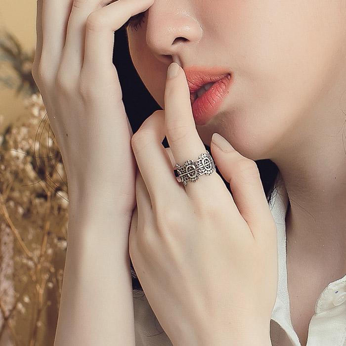 |純銀|弗蘿拉.戒指