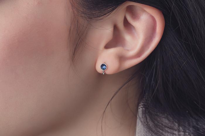 淬鍊.鋼針耳環