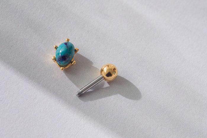 魔法石.單支耳環