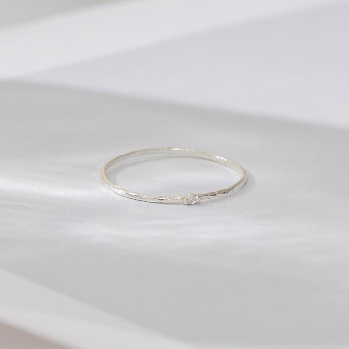 |純銀|點點星塵.戒指