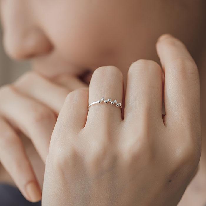 |純銀|每一天.戒指