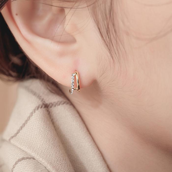 澄光.鋼針耳環