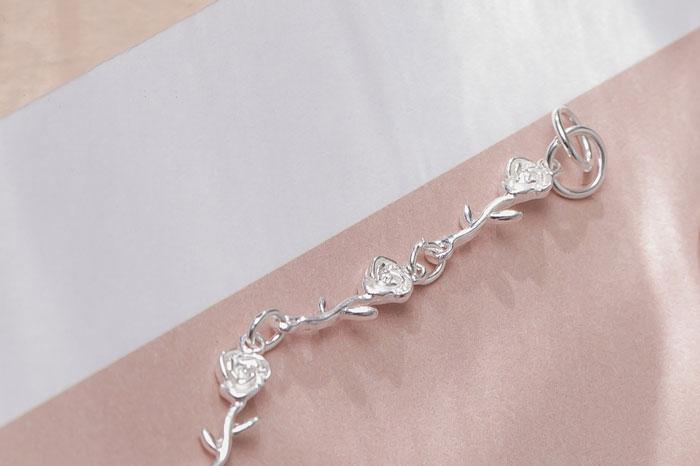 |純銀|玫瑰花園.手鍊