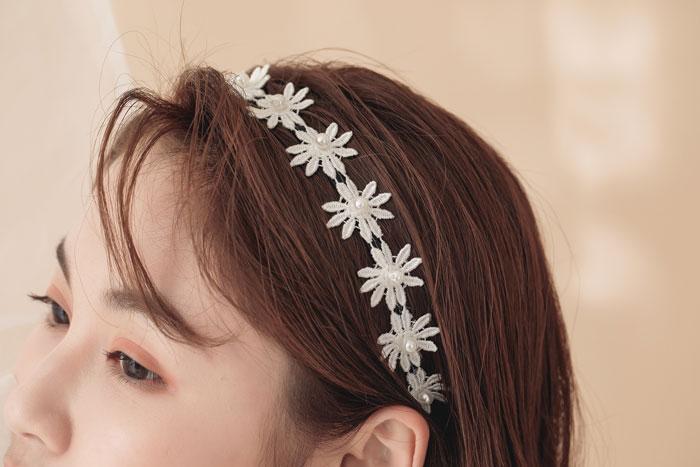 小雛菊.髮箍
