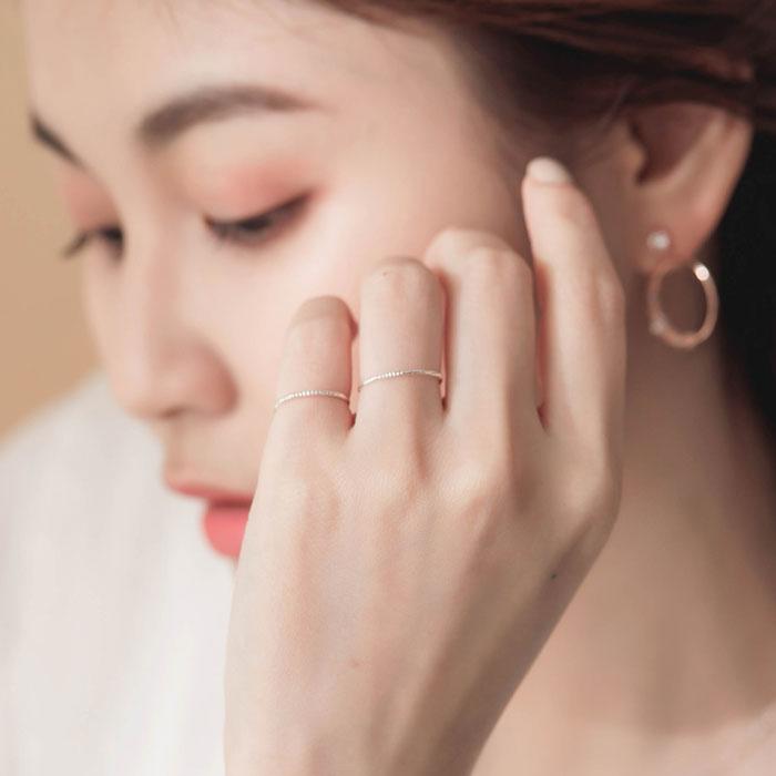 |純銀|微光.戒指