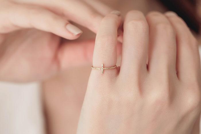 單眼皮.戒指