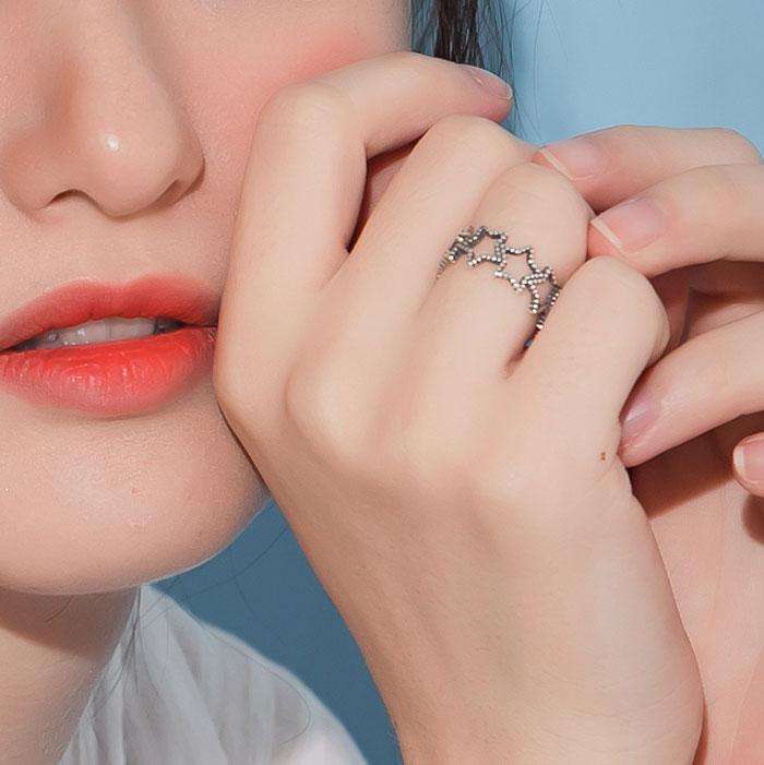 |純銀|為你摘星.戒指