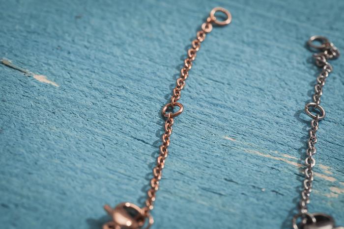 |純鋼|愛的指南針.鎖骨鍊