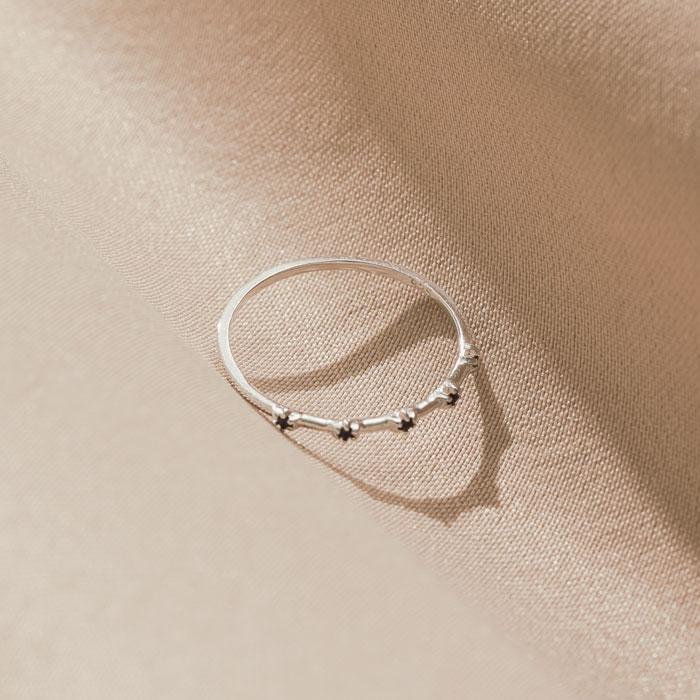 |純銀|星夜.戒指